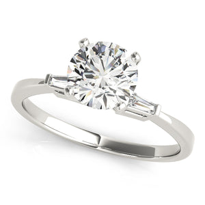 Solitaire Engagement Ring & Matching Wedding Band