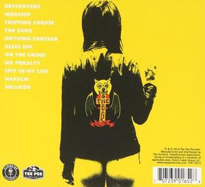 The Shrine - Bless Off CD