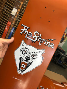 "The Shrine ""Acid Wolf"" Skate Deck"