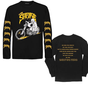 "The Shrine x Volcom ""Wolf Chopper"" Long Sleeve"