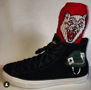 The Shrine- Rare Breed Converse Shoes