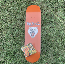 "Load image into Gallery viewer, The Shrine ""Acid Wolf"" Skate Deck and OJ's Wheels Combo (Includes Rare Breed Cassette)"