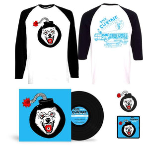 "LP Bundle - 12"" Lp - Baseball Shirt - Patch - Pin - Shirt"