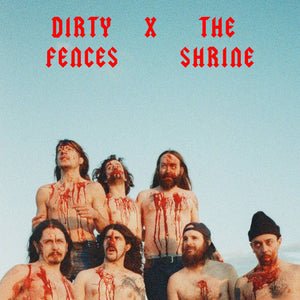 Dirty Fences X The Shrine ‎– High School Rip / Tripping Corpse 7""