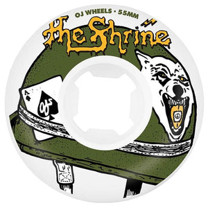 The Shrine x OJ Skate Wheels w/ Rare Breed Cassette