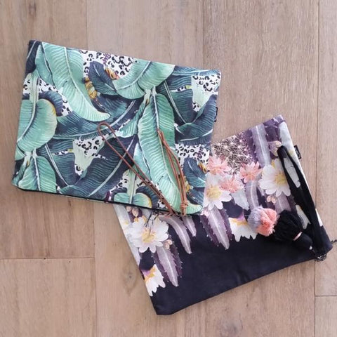 Jungle Kitty Clutch
