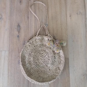 Round Seagrass Bag