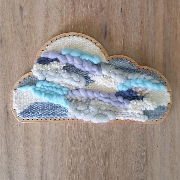 Large Woven Cloud- Jade and Frankie