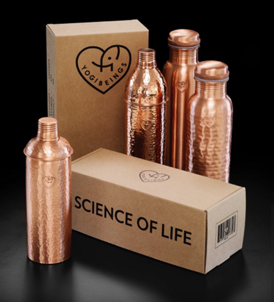 Yogibeings Crew Copper Waterbottle