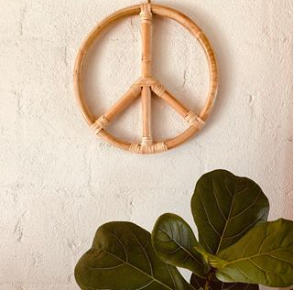 Cane Peace Sign