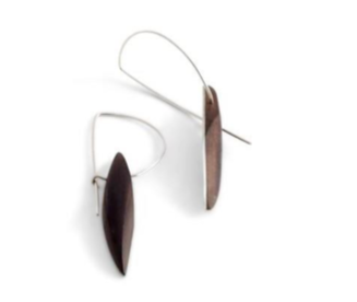 Sarah Bourke - Arrow Hoop Earrings