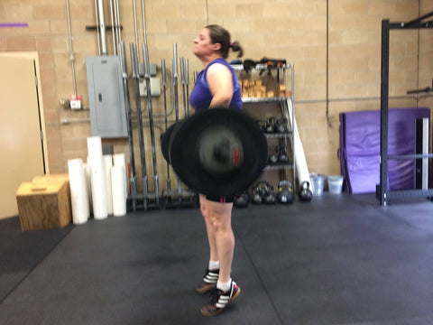 Olympic and power lifting at Crossfit revealed that I lacked confidence.