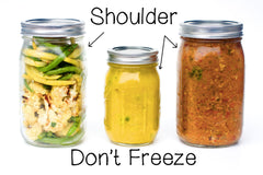 How to thaw and freeze food in Mason Jars from Back to Basics Kitchen in Broomfield, CO.