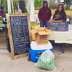Jodar Farms at the Boulder County Farmers Market.
