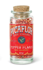 Local Organic Fermented Red Jalapeno Pepper Flakes by McCauley Family Farms