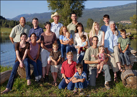 James Ranch grass fed, beyond organic family photo