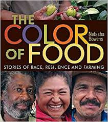 the color of food book cover