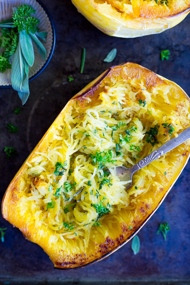 Mediterranean Spaghetti Squash Bake (Optional Cheese)