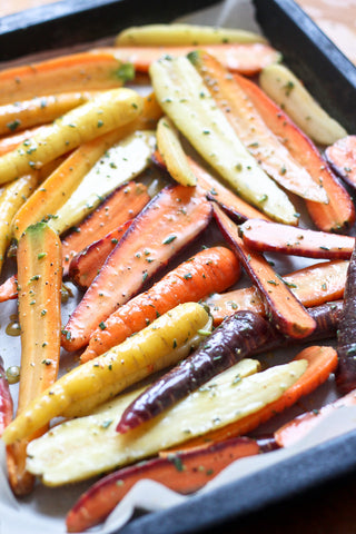 Honey Mustard Glazed Organic Carrots