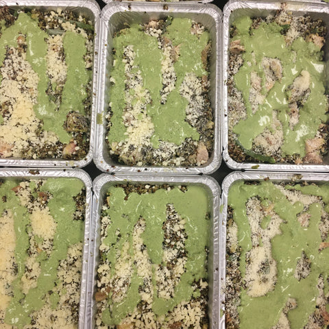Frozen Creamy Pesto Quinoa Chicken Bake