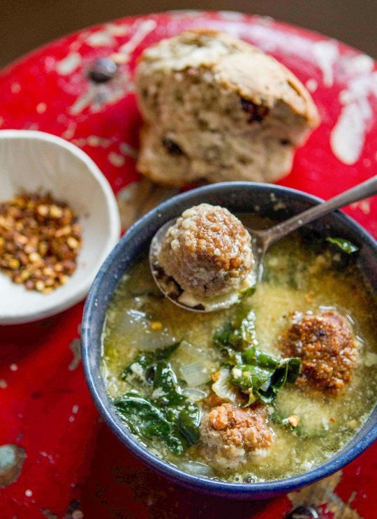 Paleo, Gluten Free Italian Wedding Soup available for pickup and delivery in Lafayette, CO