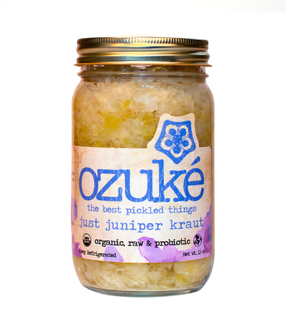 Fermented Just Juniper Kraut by Ozuke