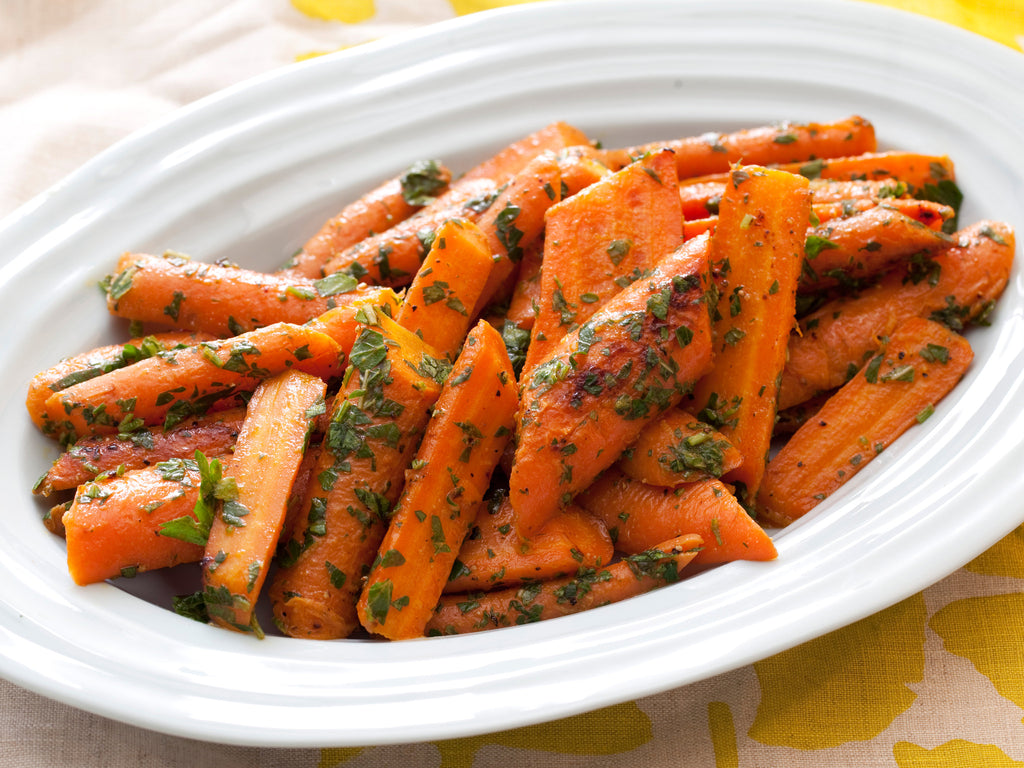 Paleo, GAPS, Gluten Free, Braised Organic Carrots available for pickup site delivery in Lafayette, CO.