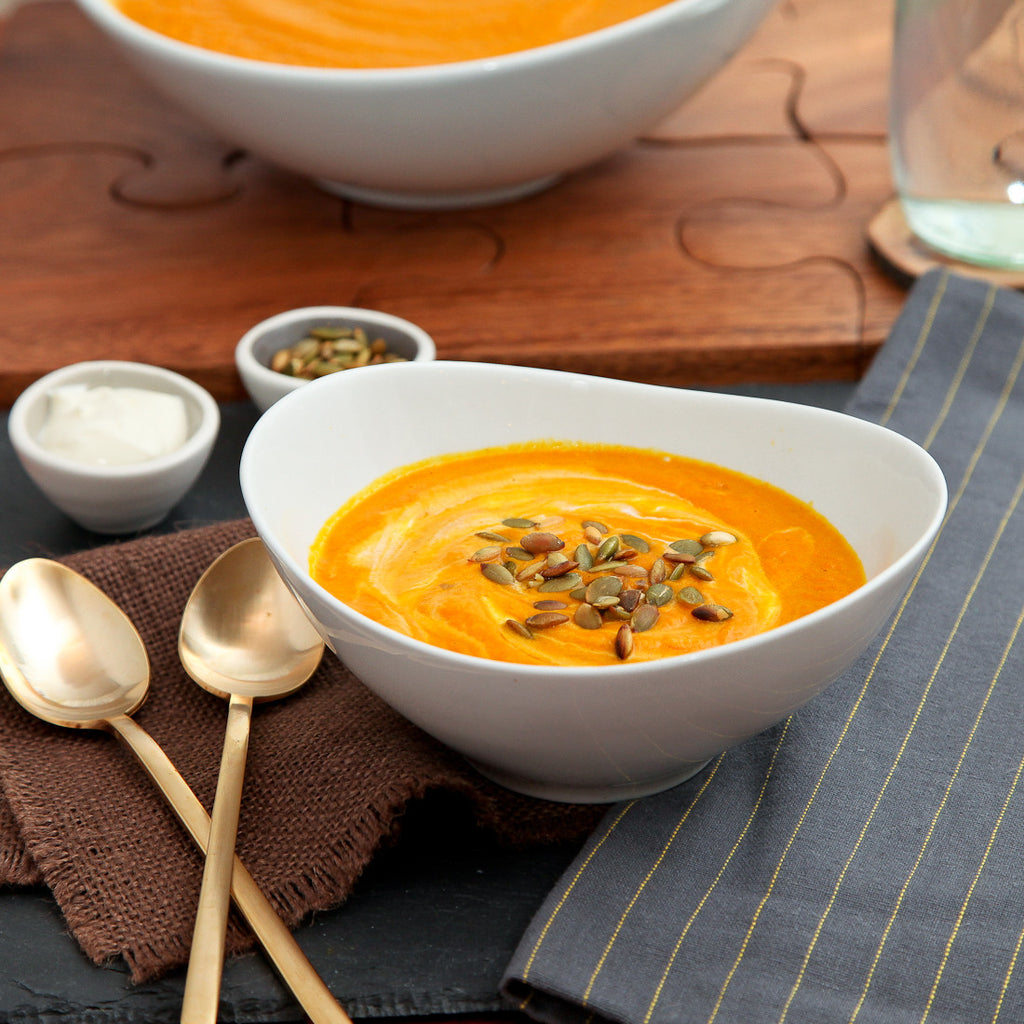Warming Curried Carrot Soup