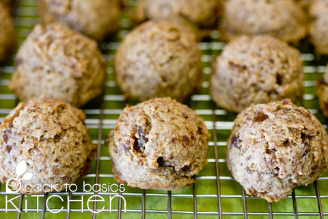 Organic Almond Super Cookies (Paleo)