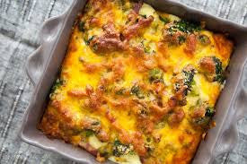 Cheesy Broccoli Cheddar Bake