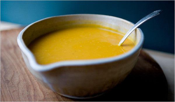 Winter Squash and Ginger Soup with Orange