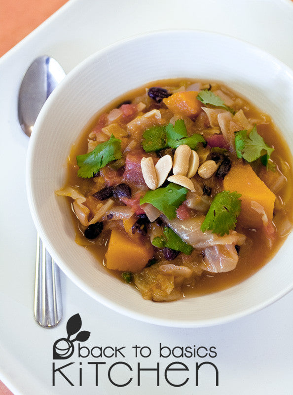 Refreshing Caribbean Vegetable Stew