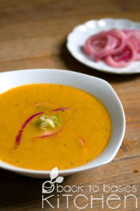 Enlivening Carrot Soup with Orange & Ginger