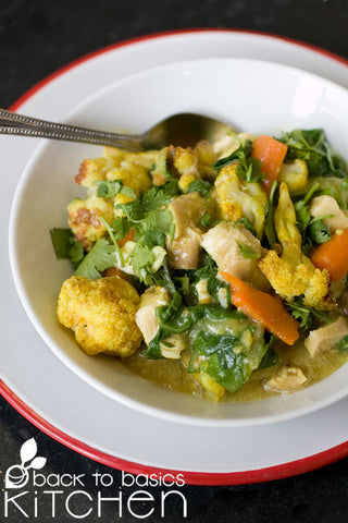 Summer Yellow Curry with OPTIONAL Chicken