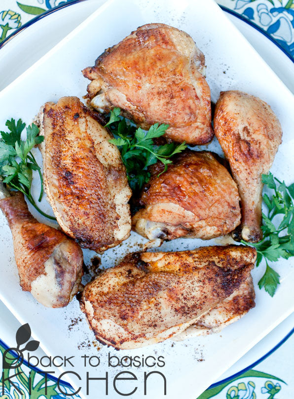 Zaatar (Middle Eastern Spiced) Chicken Thighs