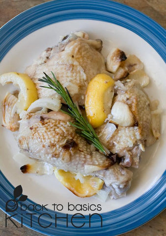 Roast Chicken with Rosemary, Garlic and Lemon