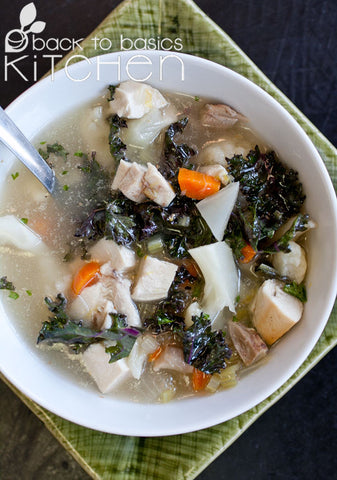 Comforting Turkey Vegetable Soup