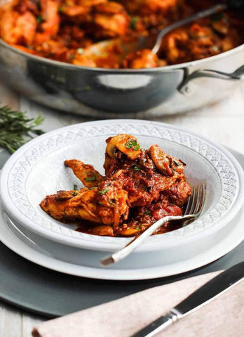 Classic Chicken Cacciatore (Off the Bone)