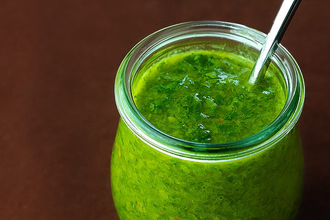 Tangy Chimichurri Herb Sauce