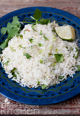 Cilantro Lime CAULIFLOWER Rice (Paleo)