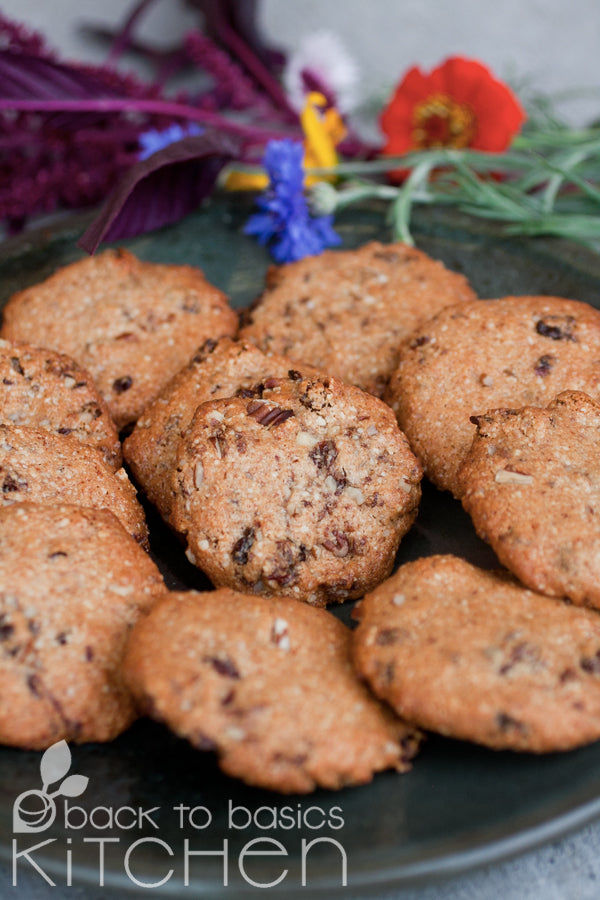 Thanksgiving Chewy Cinnamon Raisin Cookies (Paleo)