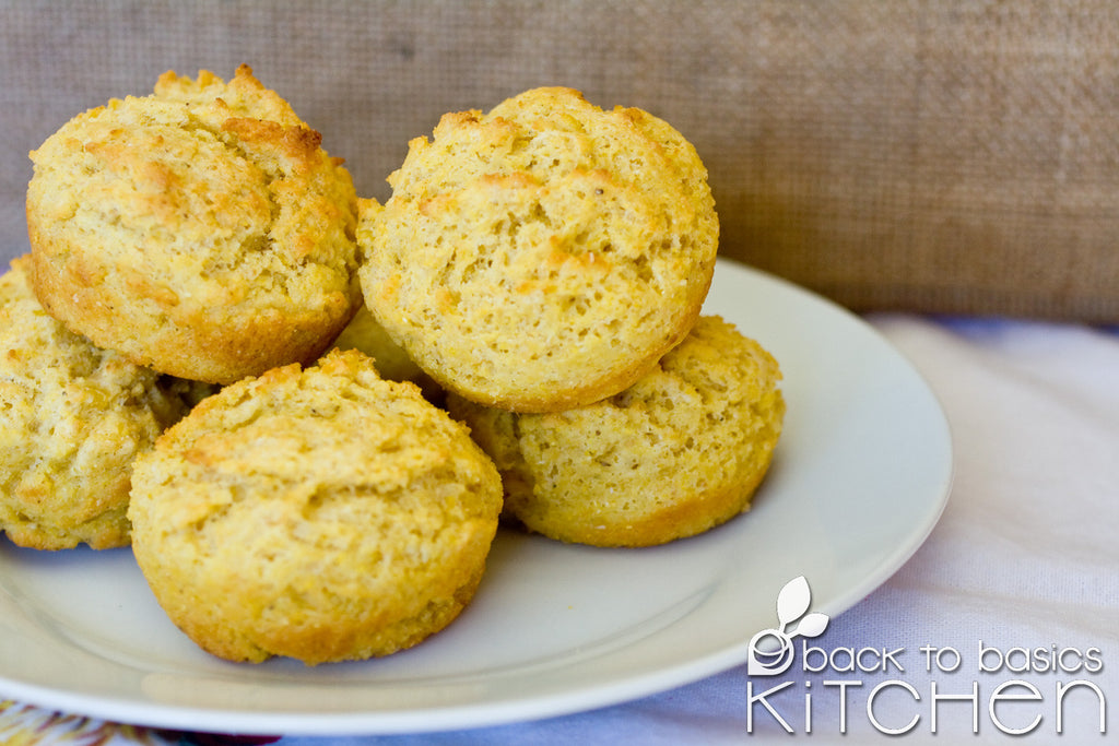 Healthy Gluten Free Golden Cornbread Muffins for pickup site delivery in Boulder County