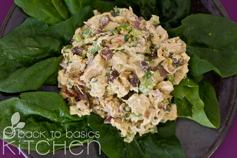 Curried Chicken Salad with Toasted Cashews
