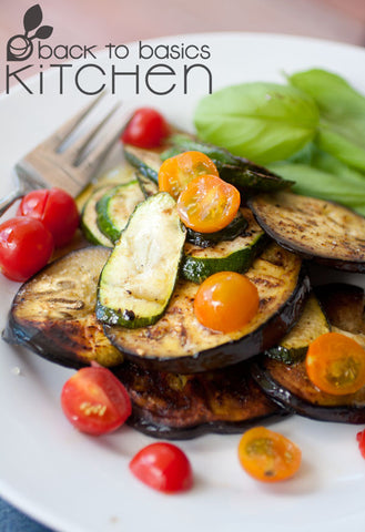 Summer Squash and Eggplant Bake with Optional Cheese