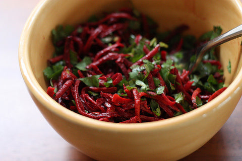 Lemony Fresh Beet Salad