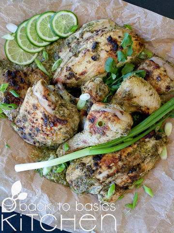 Jamaican Jerk Roast Organic Chicken (Optional Mild Version)