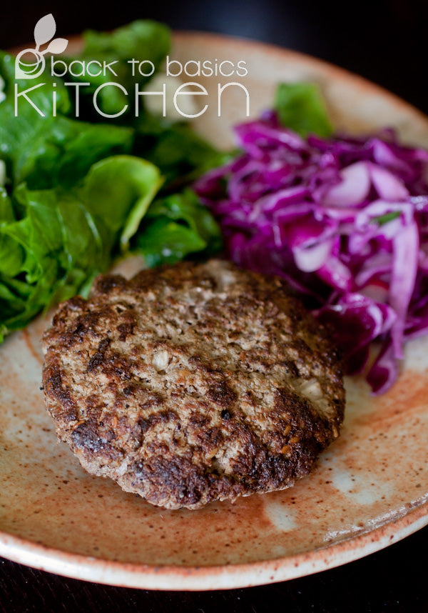 Zaatar (Middle Eastern Spiced) Lamb Burgers