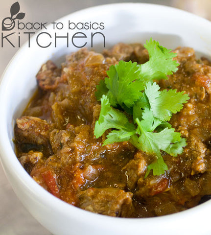 Aromatic Colorado Lamb Curry