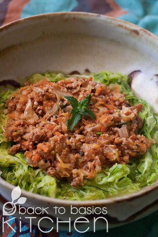 Lamb and Cabbage with Mint and Spiced Tomato
