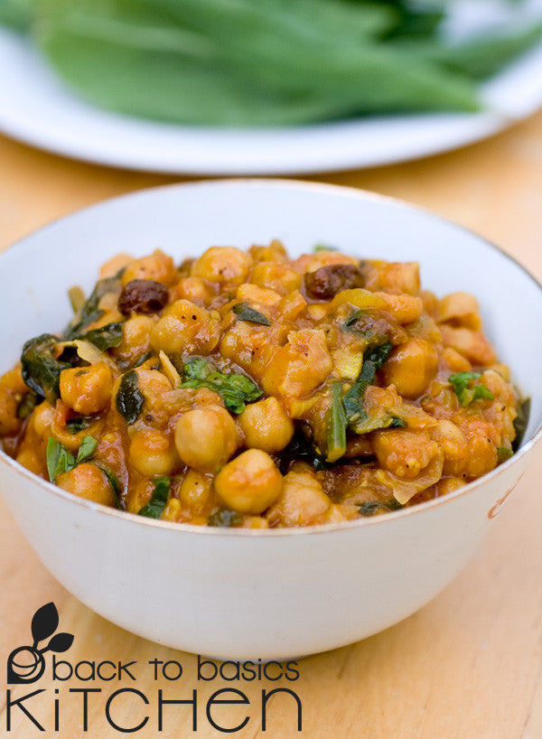Gluten Free, Vegan Moroccan Spiced Chickpeas available for delivery in Boulder, CO.